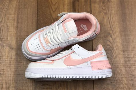 Nike WMNS Air Force 1 Shadow White/Pink Quartz-Washed