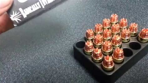 RIP Bullets in 380 caliber - YouTube