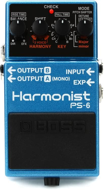 Boss PS-6 Harmonist Pedal | Sweetwater