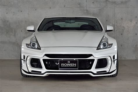 Rowen Body Kit for Nissan 370Z Is Filled with JDM Goodness