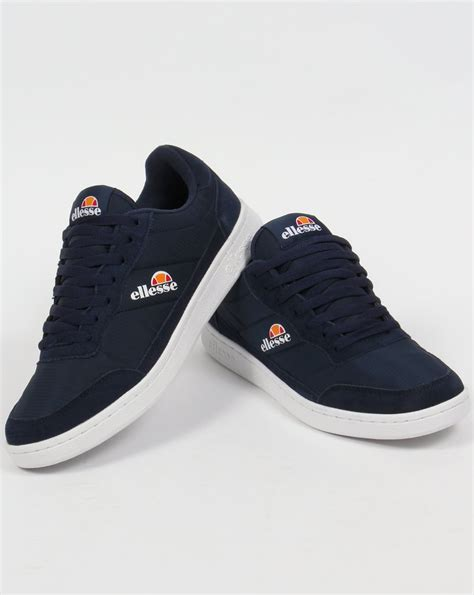 Ellesse Spirito Trainers Navy/White,shoes,mens