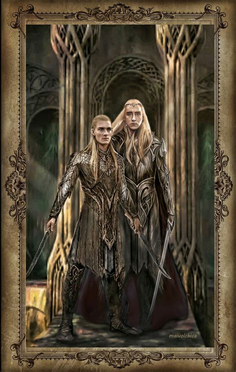 King of The Woodland Realm   Legolas and thranduil, Lord