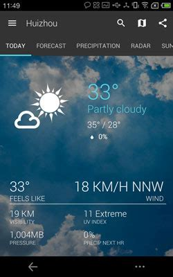 Download 1Weather APK for Android | Best APKs in 2016