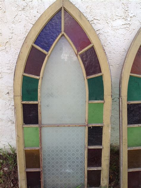 Group of Antique Church Stained Glass Windows « Obnoxious