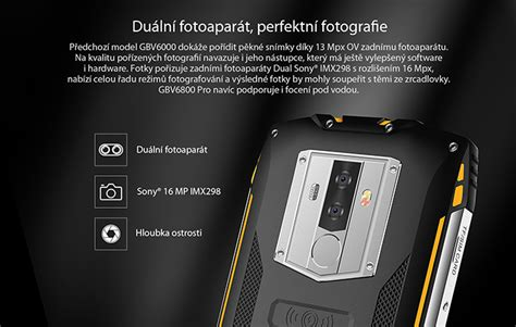 iGET BLACKVIEW GBV6800 Pro Yellow   iGET