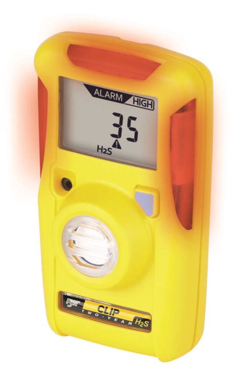 BW Clip Real Time Disposable Monitor - H2S, CO & O2