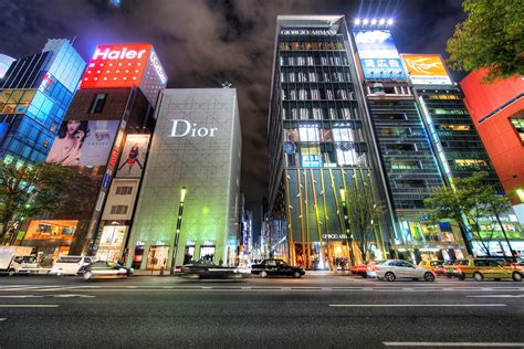 Ginza, Tokyo Japan | This is the place to burn money in