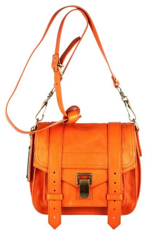 Proenza Schouler PS1 Pouch Bag Reference Guide | Spotted