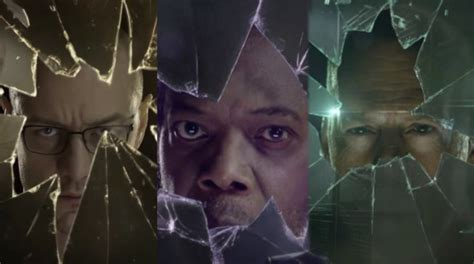 New Trailer For Glass Dropped And James McAvoy Looks