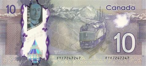 Coins and Canada - Special serial number banknotes