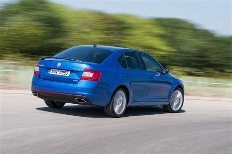 ŠKODA Octavia RS: Now with all-wheel drive and six-speed