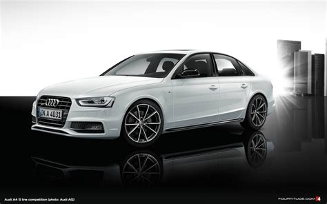 Audi A4 and A5 S line competition for Japan - Fourtitude