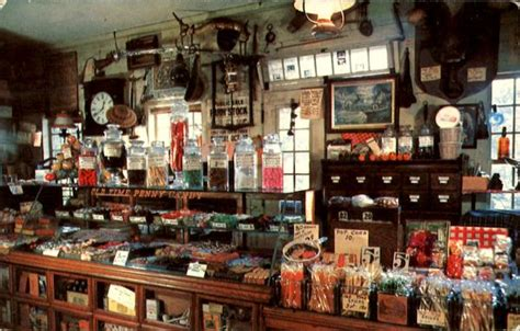 The Penny Candy Counter, Wayside Country Store Sudbury, MA