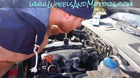 How to change oil and oil filter for Audi A6 (C6 4F) 2
