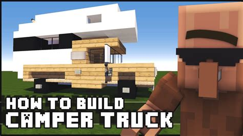 Minecraft : How to Make - Camper Truck - YouTube