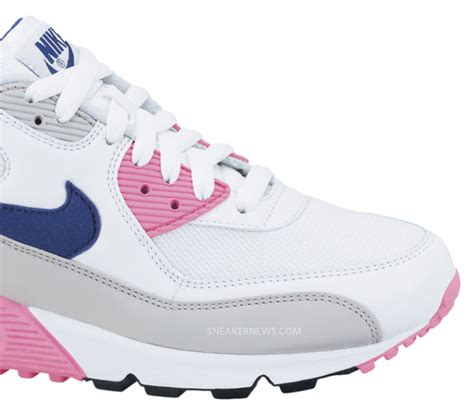 Nike WMNS Air Max 90 – White – Asian Concord – Laser Pink