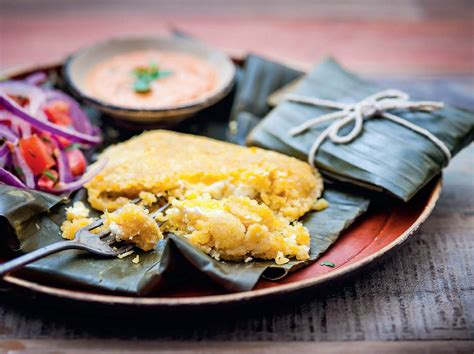 Tamales de Queso (Cheese Tamales) From 'Ceviche: Peruvian